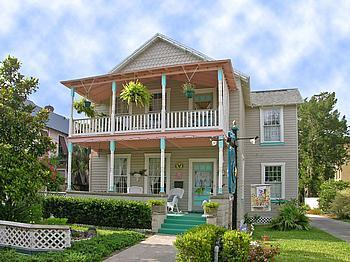 At Journeys End Bed and Breakfast, St Augustine, Florida, Pet Friendly, Romantic