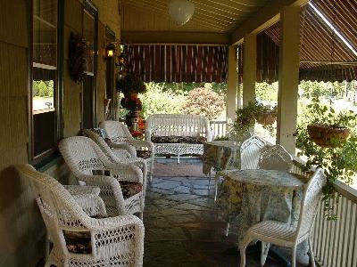 Relax on the Inns' Wraparound Front Porch