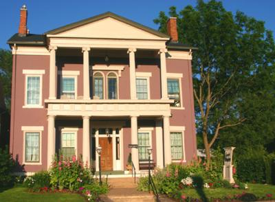 Annie Wiggins Guest House Bed & Breakfast, Galena, Illinois