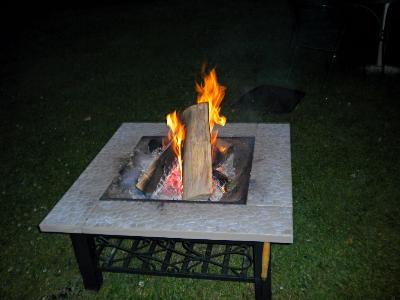 Enjoy Our New Fire Pit