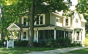 White Swan Bed and Breakfast Inn, Whitehall, Michigan