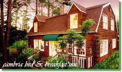 The J. Patrick House Bed & Breakfast Inn, Cambria, California