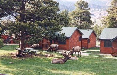 Mountain Shadows Resort...Luxury Couples Cabins, Estes Park, Colorado, Pet Friendly, Romantic