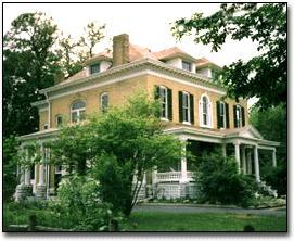 BEALL MANSION Greater St Louis Bed and Breakfast, St Louis, Missouri, Romantic
