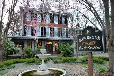 Faunbrook Bed & Breakfast, West Chester, Pennsylvania, Romantic