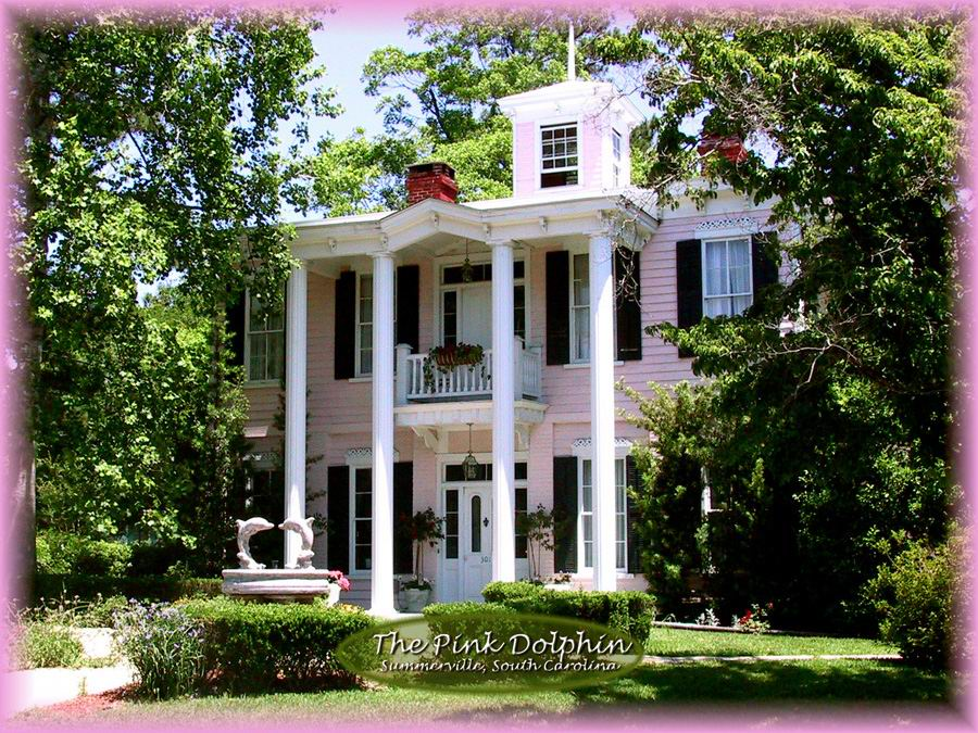 The Pink Dolphin Bed Breakfast Summerville South Carolina Bed