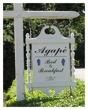 Agapé Bed & Breakfast, Yarmouth Port, Massachusetts