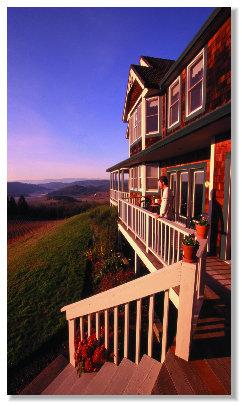Youngberg Hill Vineyards & Inn, McMinnville, Oregon, Romantic
